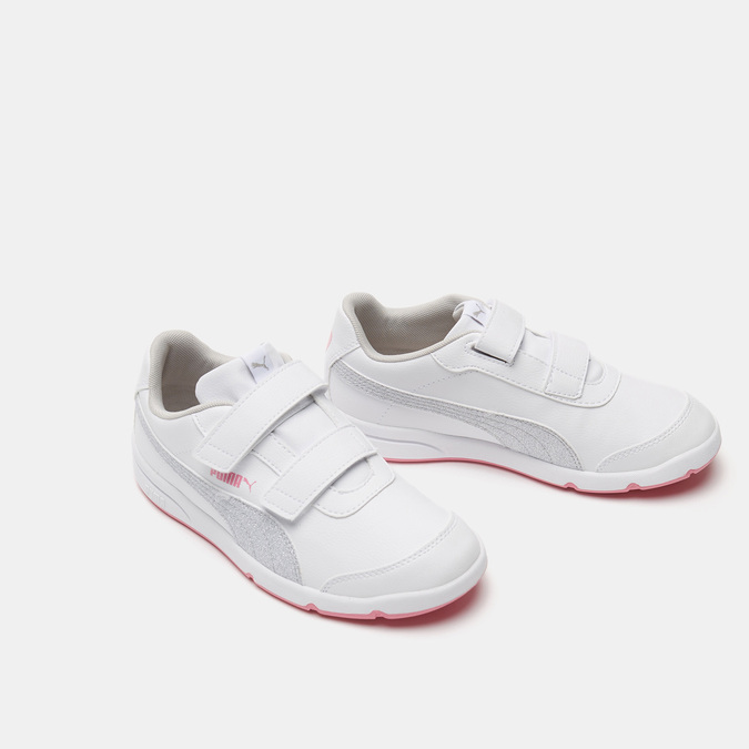 Baskets enfant puma, Blanc, 301-1180 - 26
