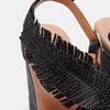 Sandales compensées bata, Noir, 769-6777 - 26
