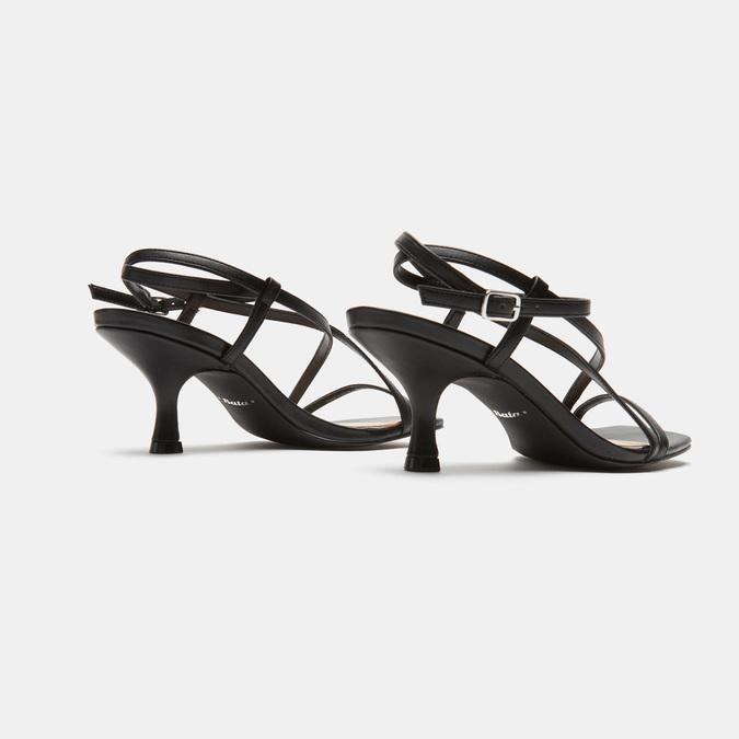 Sandales à bride bata-rl, Noir, 761-6853 - 19