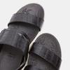 Sandales femme à plateforme bata, Noir, 661-6492 - 17