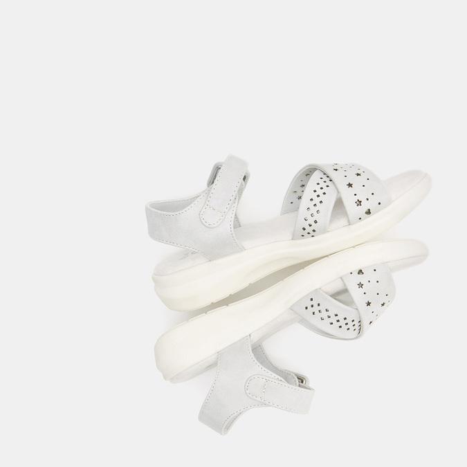 Sandales fille mini-b, Gris, 361-2429 - 19
