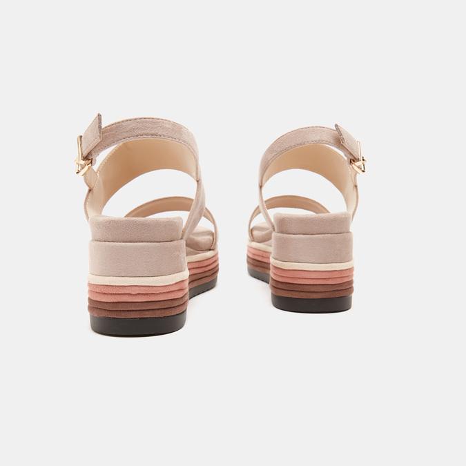 Sandales à plateforme bata, Jaune, 769-8885 - 15