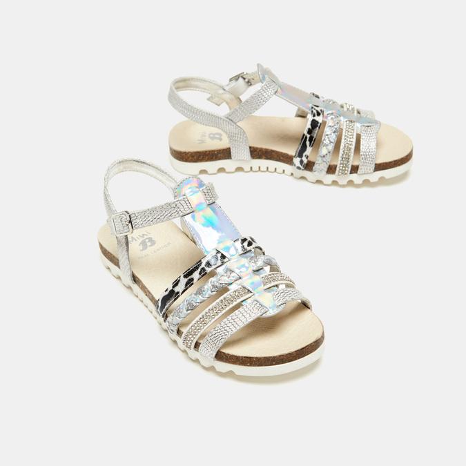 Sandales fille mini-b, Argent, 361-2413 - 16