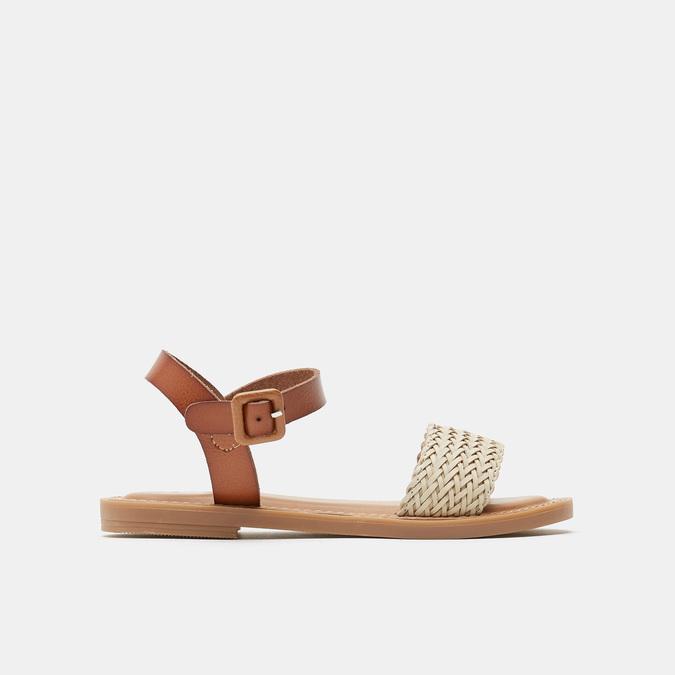 Sandales fille mini-b, Blanc, 361-1430 - 13
