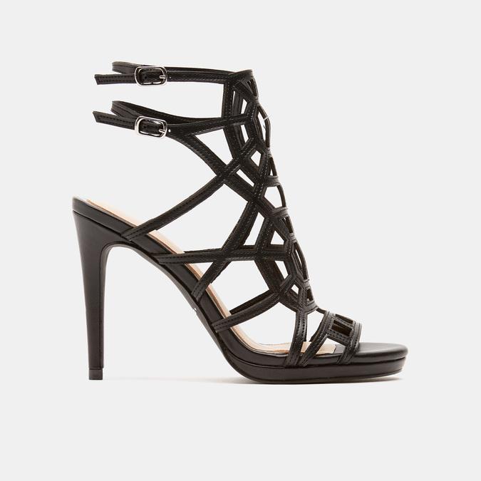 Sandales à talon aiguille bata, Noir, 761-6880 - 13