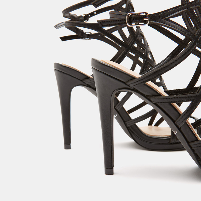 Sandales à talon aiguille bata, Noir, 761-6880 - 15