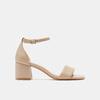 Sandales à talon large bata, Rose, 764-5862 - 13