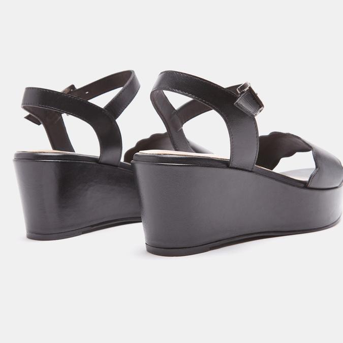 Sandales à plateforme bata, Noir, 764-6882 - 17