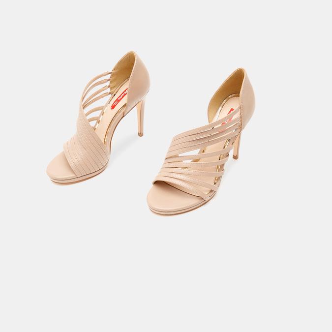 Sandales à talon aiguille bata-rl, Rose, 761-5854 - 16