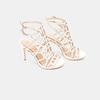 Sandales à talon aiguille bata, Blanc, 761-8880 - 16