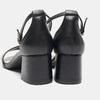 Sandales à talon large bata, Noir, 764-6862 - 15