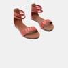 Sandales femme bata, Rouge, 561-5824 - 16