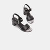 Sandales à plateforme bata, Noir, 764-6970 - 16