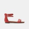 Sandales femme bata, Rouge, 561-5824 - 13