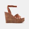 Sandales compensées bata-rl, Brun, 764-3982 - 13