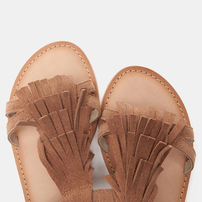Sandales femme bata, Brun, 563-3844 - 17