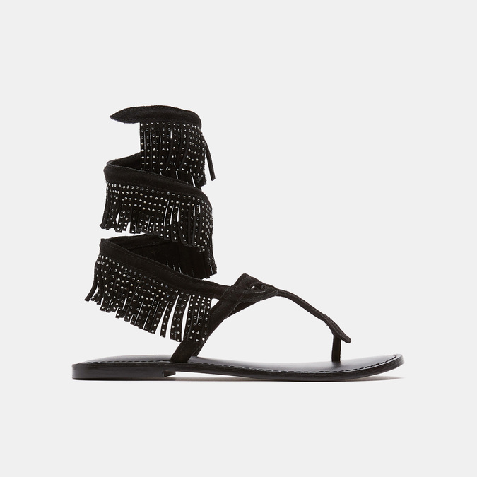 Sandales femme bata-rl, Noir, 563-6855 - 13