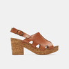 Sandales à plateforme bata, Brun, 764-3980 - 13