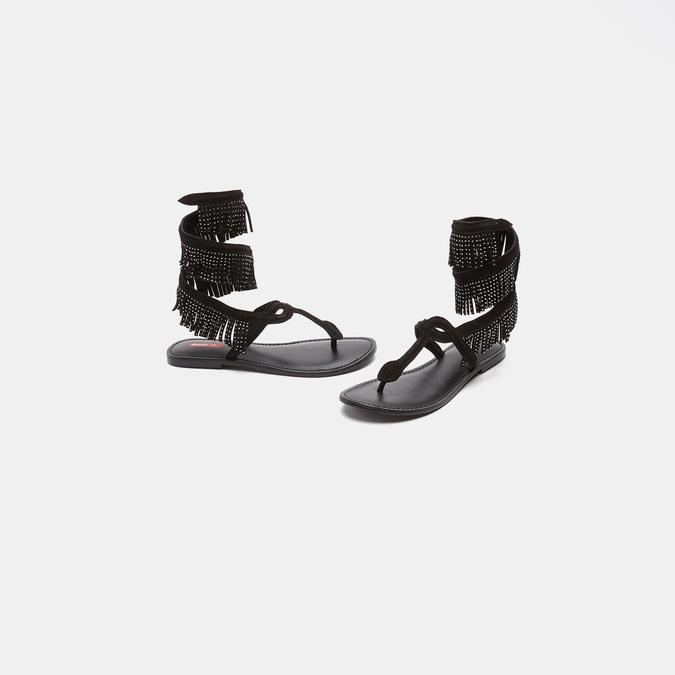 Sandales femme bata-rl, Noir, 563-6855 - 16