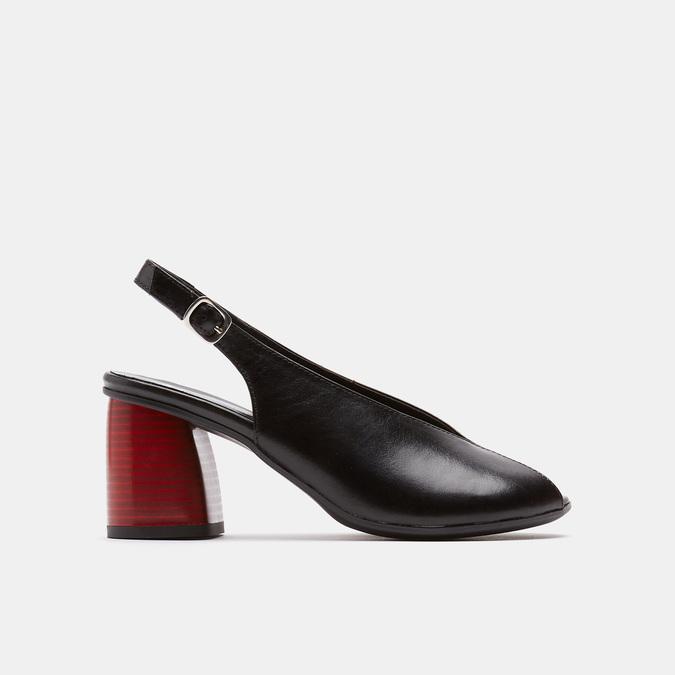 Sandales à plateforme bata, Noir, 764-6971 - 13
