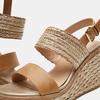 Sandales compensées bata, Beige, 769-8968 - 15