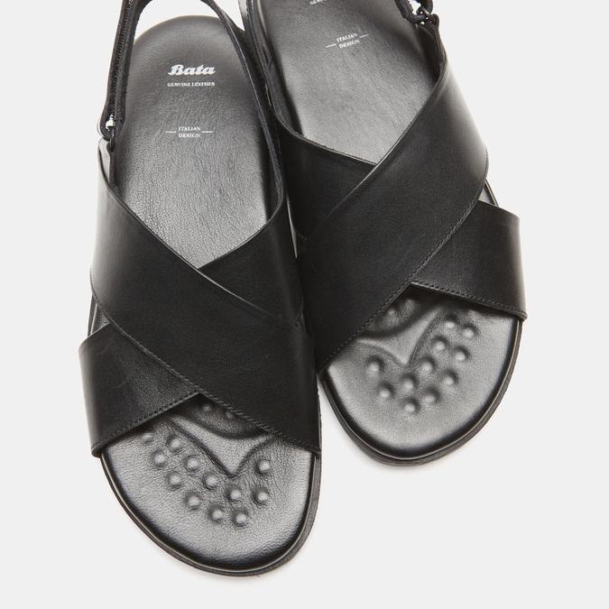 Sandales homme bata, Noir, 864-6280 - 15
