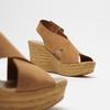 Sandales compensées bata, Brun, 766-3964 - 16