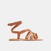 Sandales femme bata, Brun, 564-3854 - 13