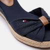 Sandales compensées tommy-hilfiger, Bleu, 669-9202 - 26