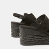 Sandales compensées bata, Noir, 769-6960 - 26
