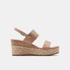 Sandales compensées bata, Jaune, 769-8960 - 13