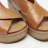 Sandales à plateforme bata, Brun, 764-3966 - 17