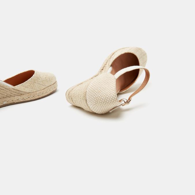 Sandales compensées bata, Or, 769-8953 - 15