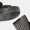 Sandales compensées bata, Noir, 769-6960 - 17