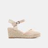 Sandales compensées bata, Beige, 769-8871 - 13