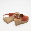 Sandales à plateforme bata, Brun, 763-4125 - 19