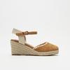 Sandales compensées bata, Brun, 769-3871 - 13