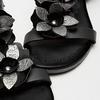 Sandales à bride bata, Noir, 564-6915 - 15
