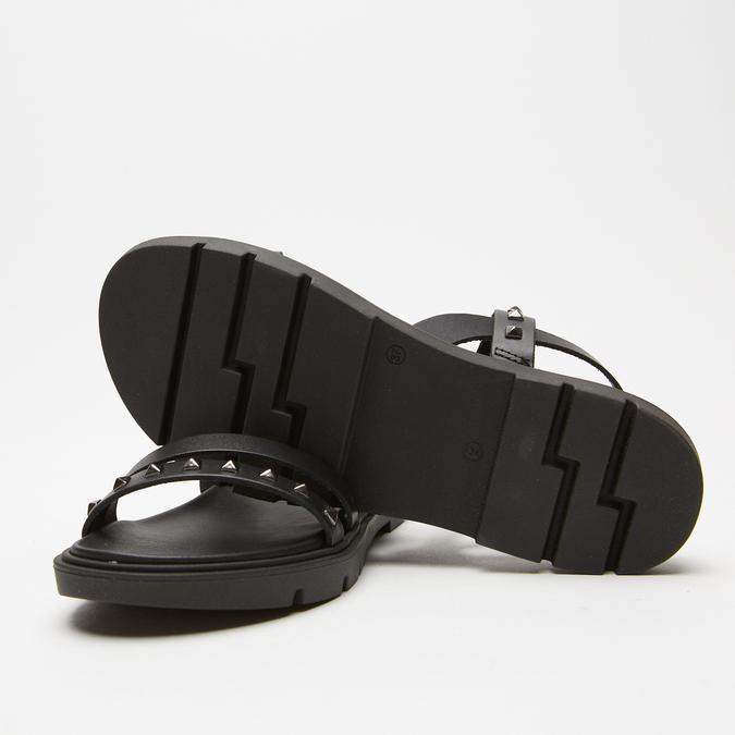 Sandales à bride bata, Noir, 564-6911 - 17