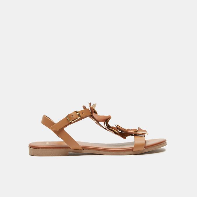Sandales à bride bata, Brun, 564-3915 - 13