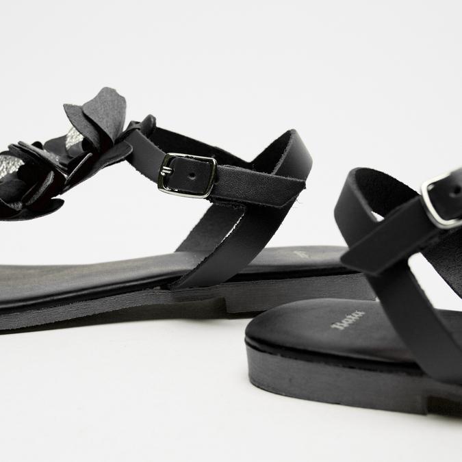 Sandales à bride bata, Noir, 564-6915 - 16