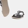 Sandales à bride bata, Noir, 561-6705 - 16