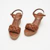 Sandales à plateforme bata, Brun, 764-4129 - 15
