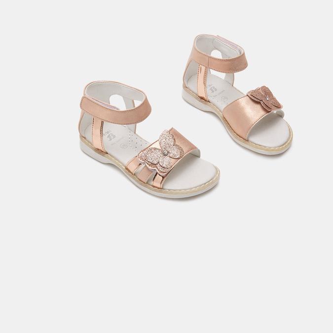 Sandales fille mini-b, Rose, 261-5264 - 16