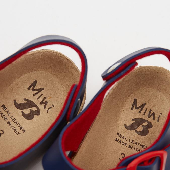 Sandales garçon mini-b, Bleu, 361-9433 - 15
