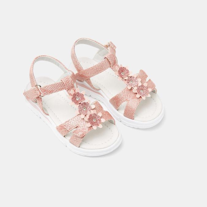 Sandales fille mini-b, Rose, 261-5269 - 19