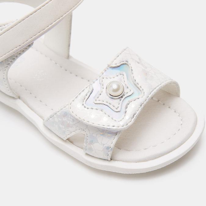 Sandales fille mini-b, Blanc, 261-1268 - 26