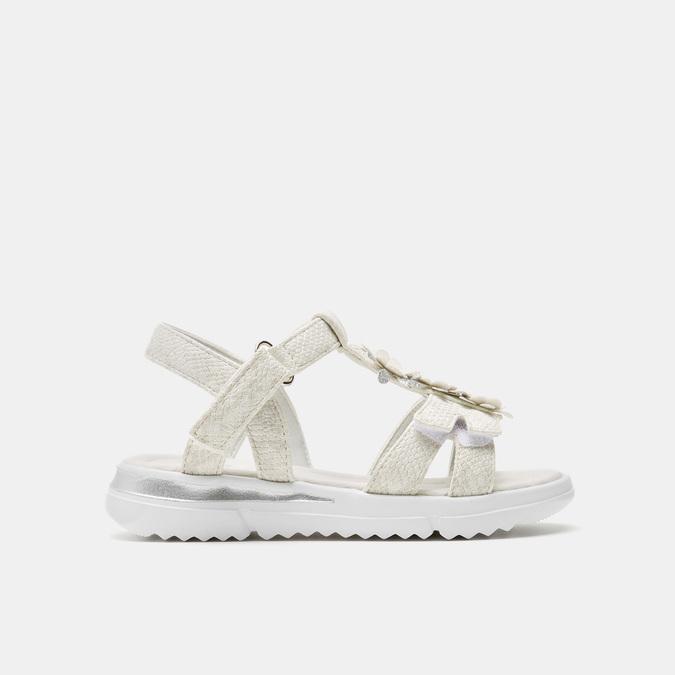 Sandales fille mini-b, Blanc, 261-1269 - 13