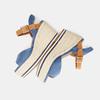 Sandales compensées bata, Bleu, 769-9912 - 15