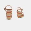 Sandales compensées bata, Jaune, 769-8920 - 15